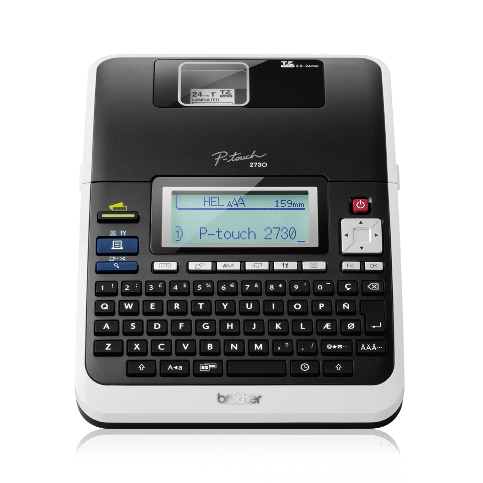 Brother P Touch Pt 2730vp Electronic Label Maker: P-touch Labelprinter