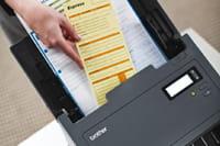 afwijkende papier scannen
