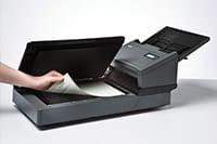 afwijkende pagina inscannen