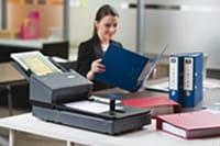 scannen op kantoor