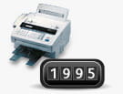 1995 De eerste multifunctionele laserprinter van Brother