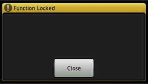 BSI locked