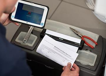 Mobiele printers voor onderweg of op locatie