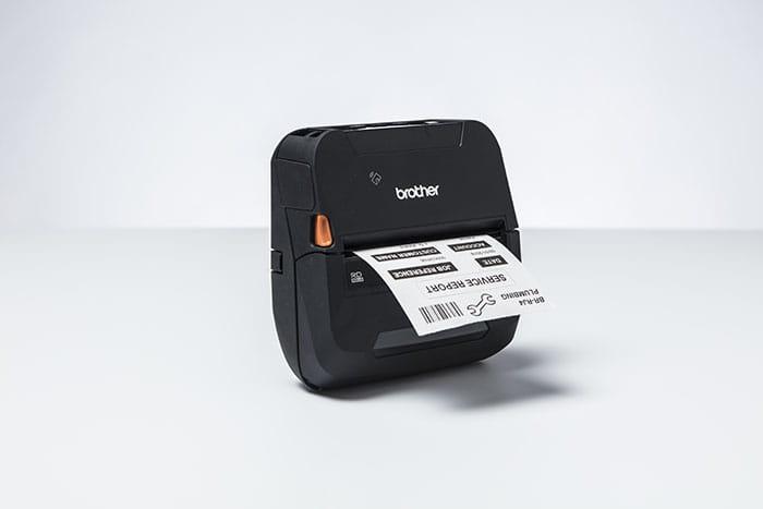 Robuuste mobiele printers voor labels en bonnen