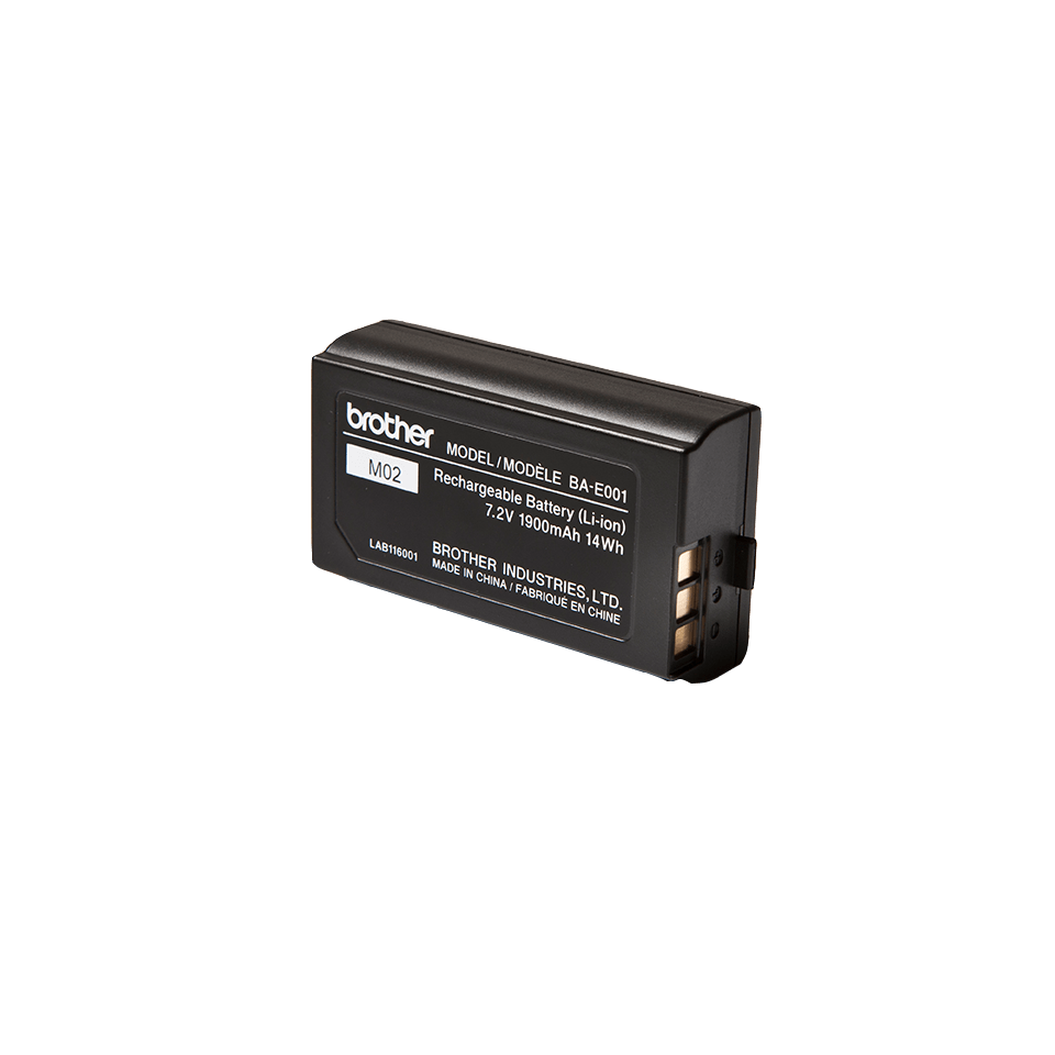 Originele Brother BA-E001 oplaadbare lithium-ion batterij