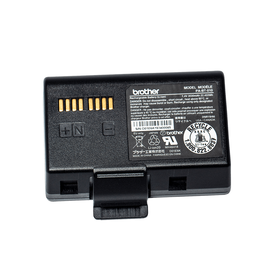 PA-BT-010 Li-ion oplaadbare smart batterij 2