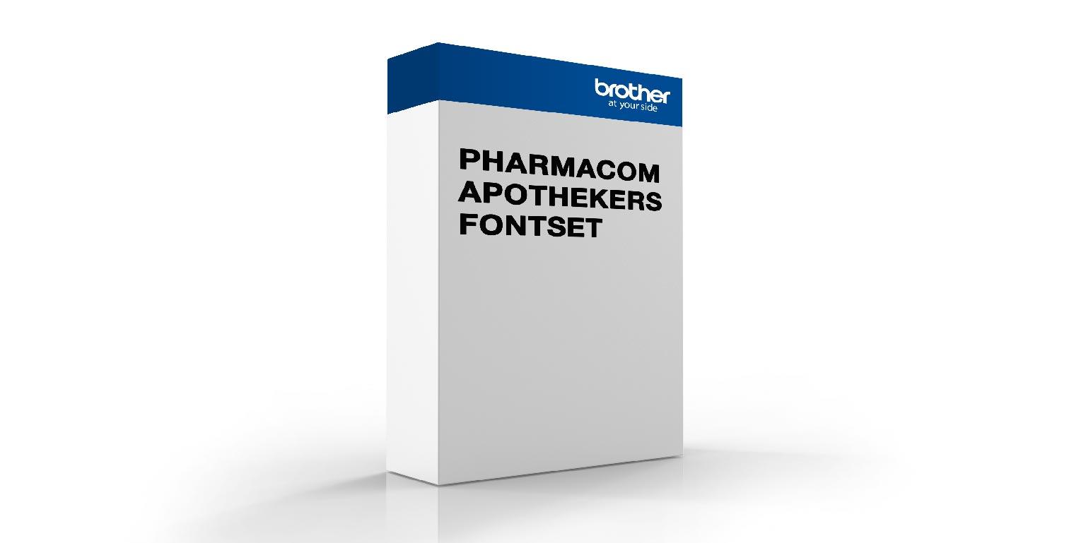 Pharmacom apothekers fontset