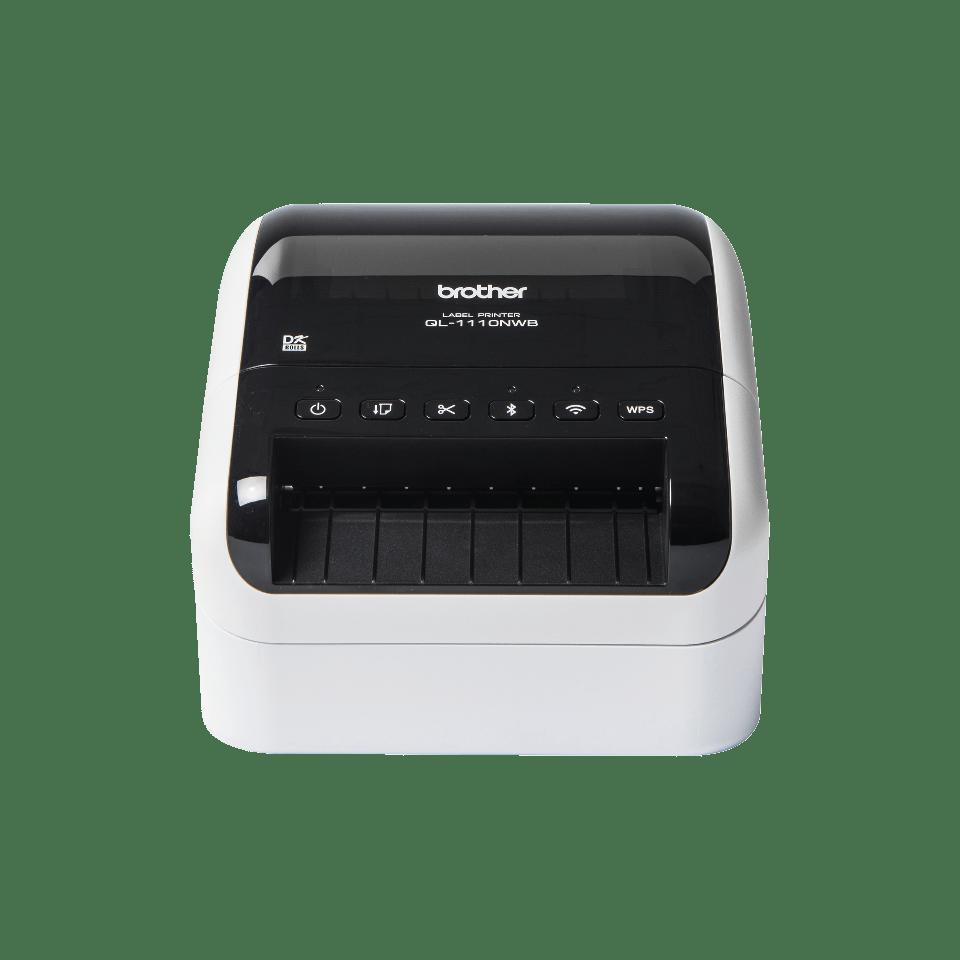 QL-1110NWB Labelprinter met Wi-Fi en netwerkaansluiting voor grootformaat labels