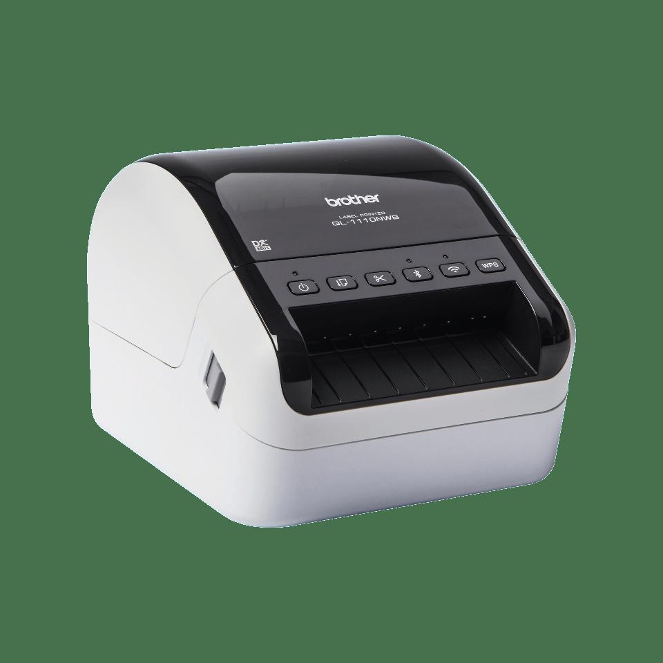 QL-1110NWB Labelprinter met Wi-Fi en netwerkaansluiting voor grootformaat labels 3