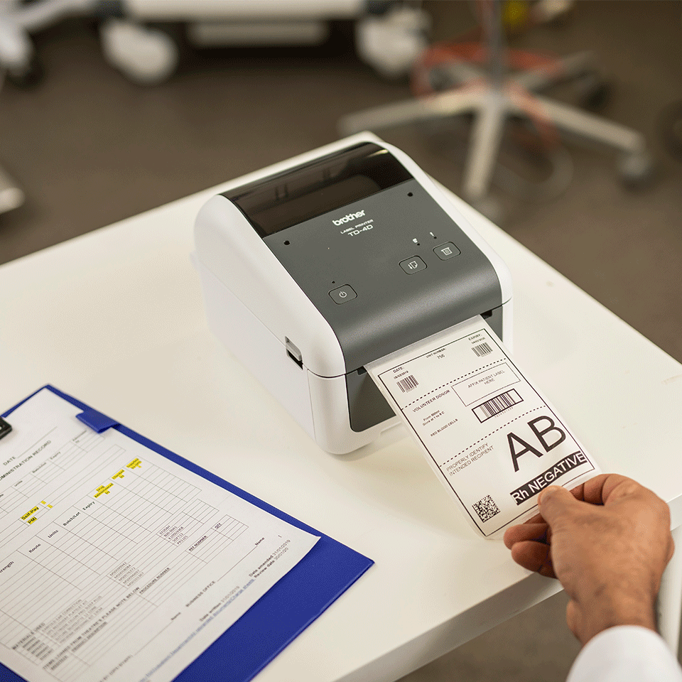 TD-4410D Professionele desktop labelprinter 6