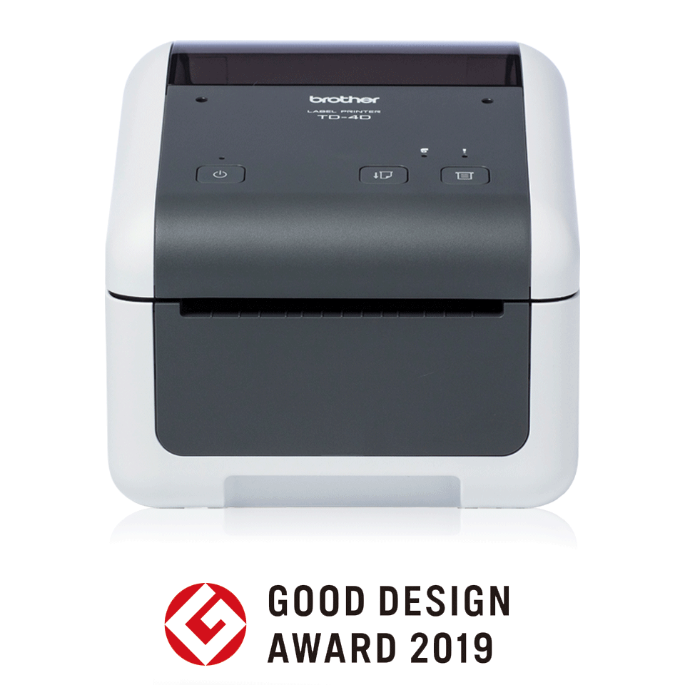 TD-4410D Professionele desktop labelprinter