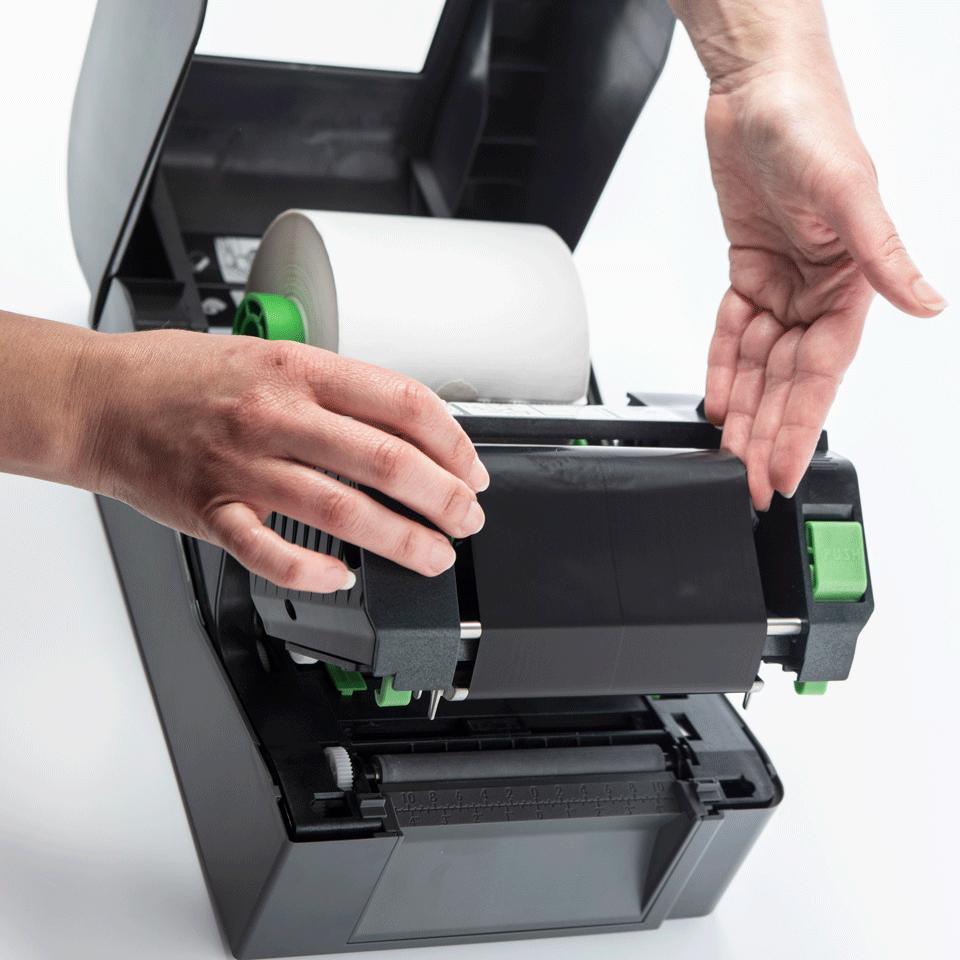 TD-4420TN Professionele Thermo-transfer labelprinter met bekabelde netwerkverbinding 5