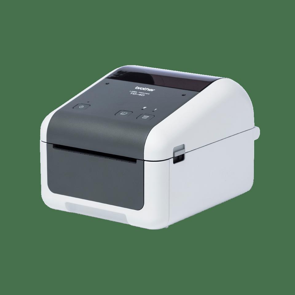 TD-4520DN Professionele desktop labelprinter met bekabelde netwerkverbinding 2