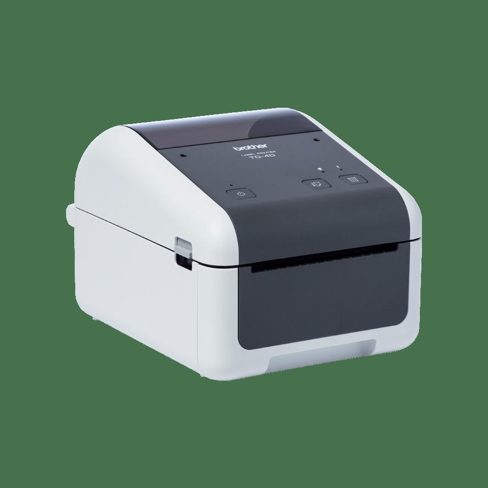 TD-4520DN Professionele desktop labelprinter met bekabelde netwerkverbinding 3