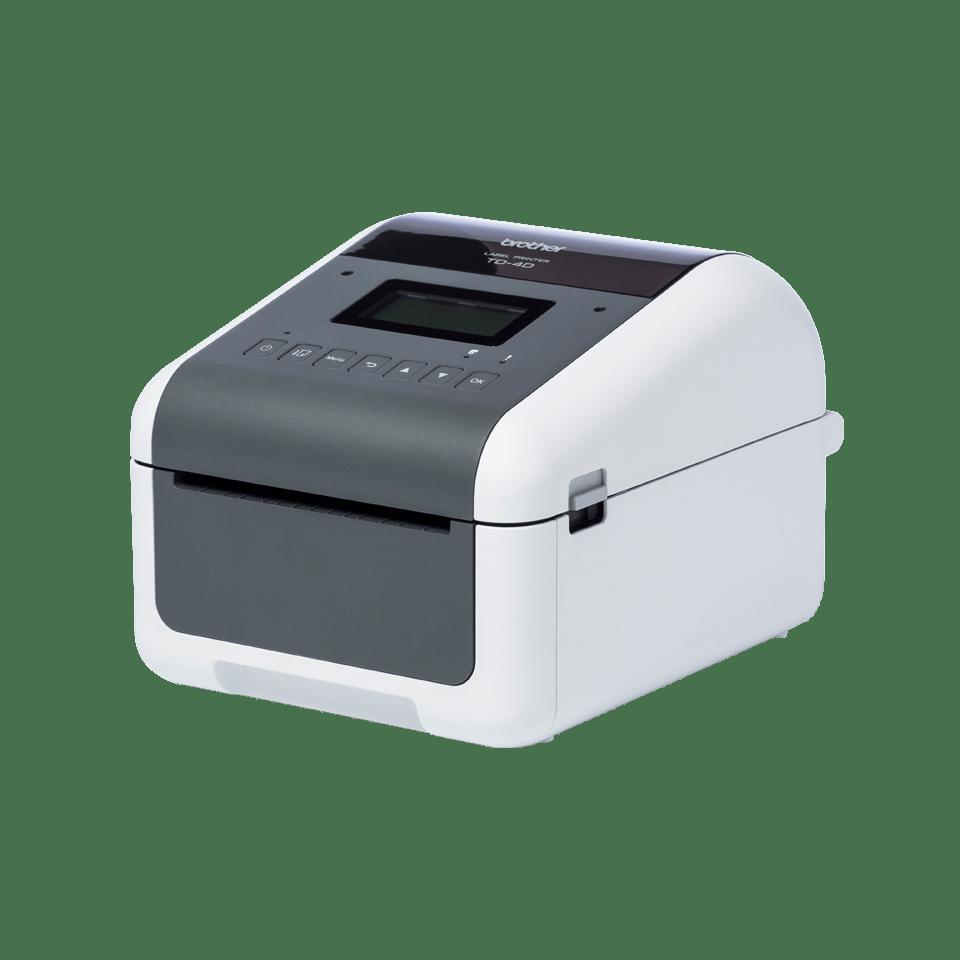 TD-4550DNWB Professionele desktop labelprinter met draadloze/bekabelde netwerkverbinding en Bluetooth 2
