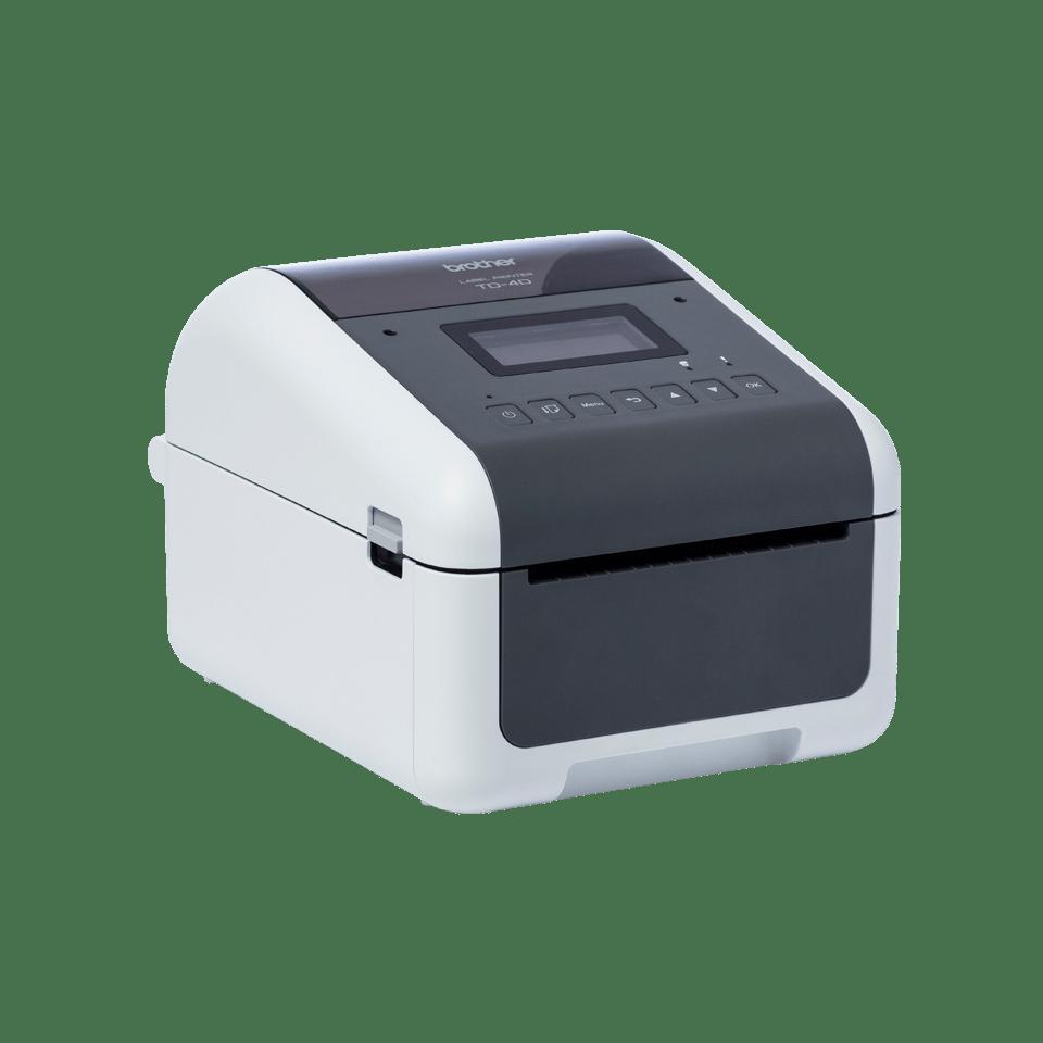 TD-4550DNWB Professionele desktop labelprinter met draadloze/bekabelde netwerkverbinding en Bluetooth 3