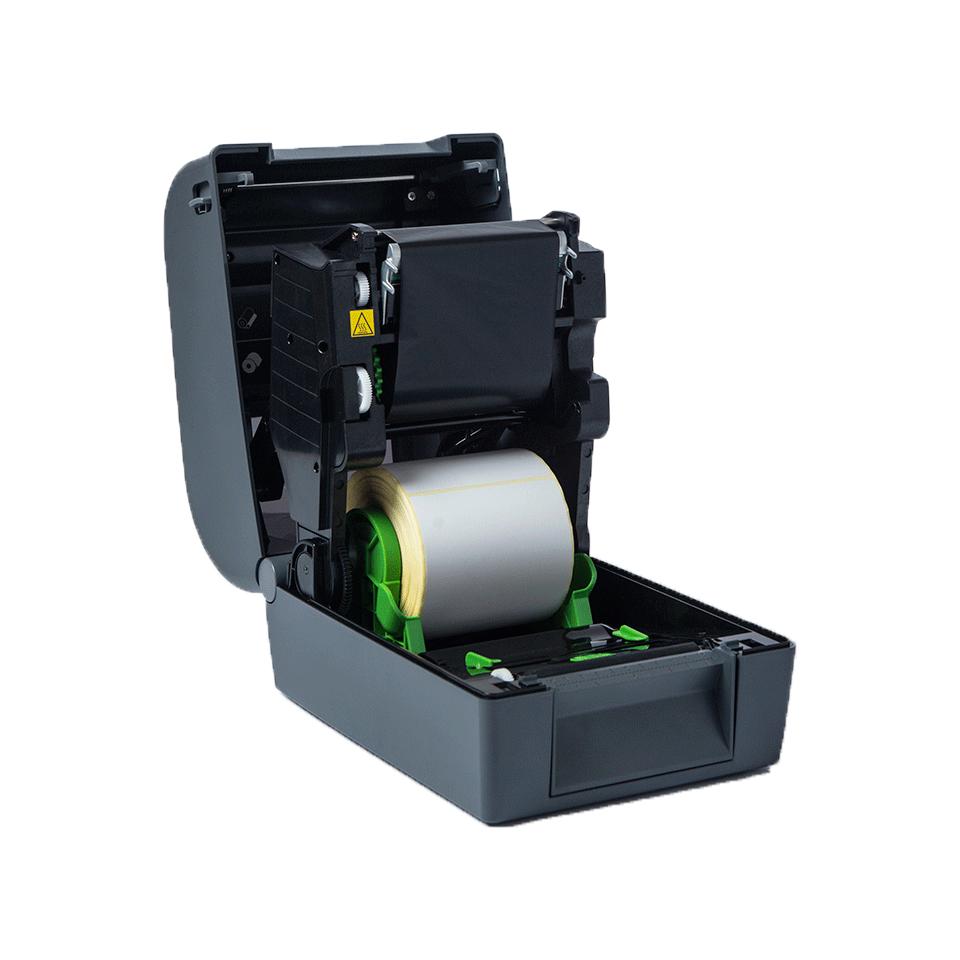 TD-4650TNWBR Professionele thermo-transfer labelprinter met bekabelde/draadloze netwerkverbinding en Bluetooth 4