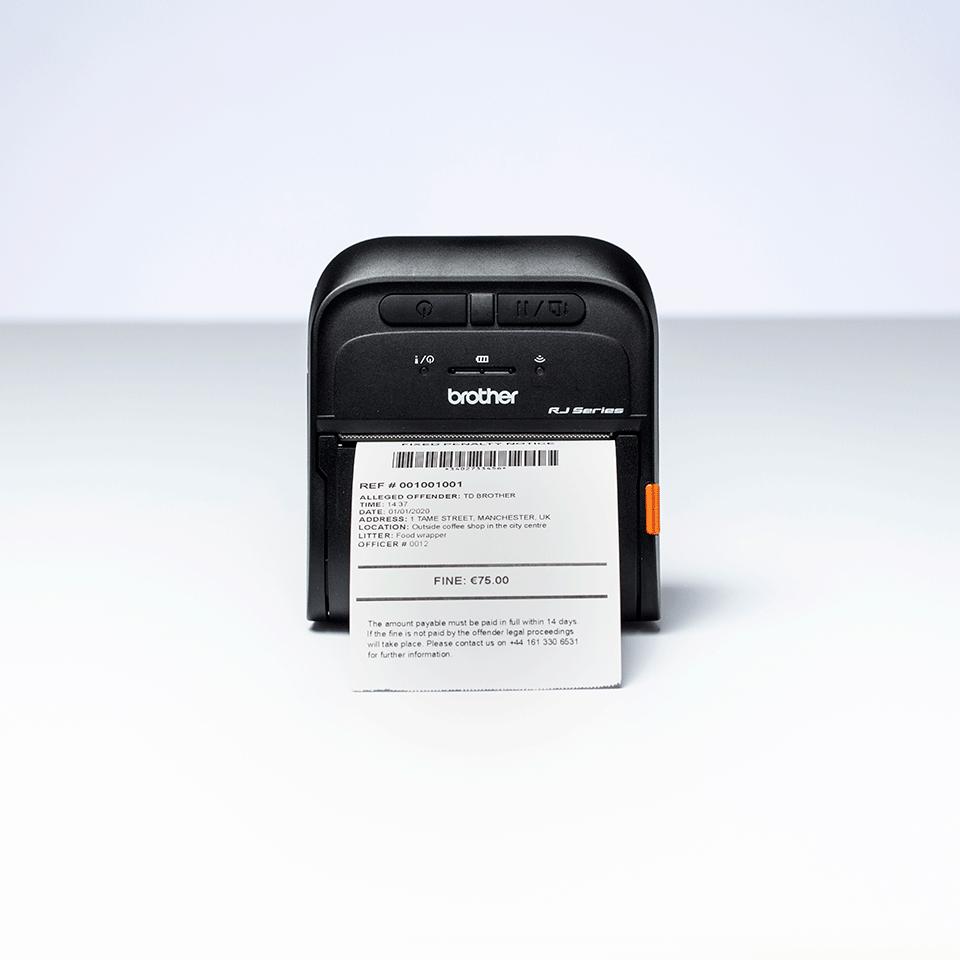 RJ-3035B Mobiele bonnenprinter 5