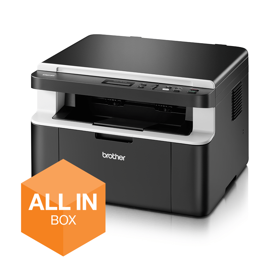 Draadloze all-in-one zwart-witlaserprinter DCP-1612W All-in-Box bundel