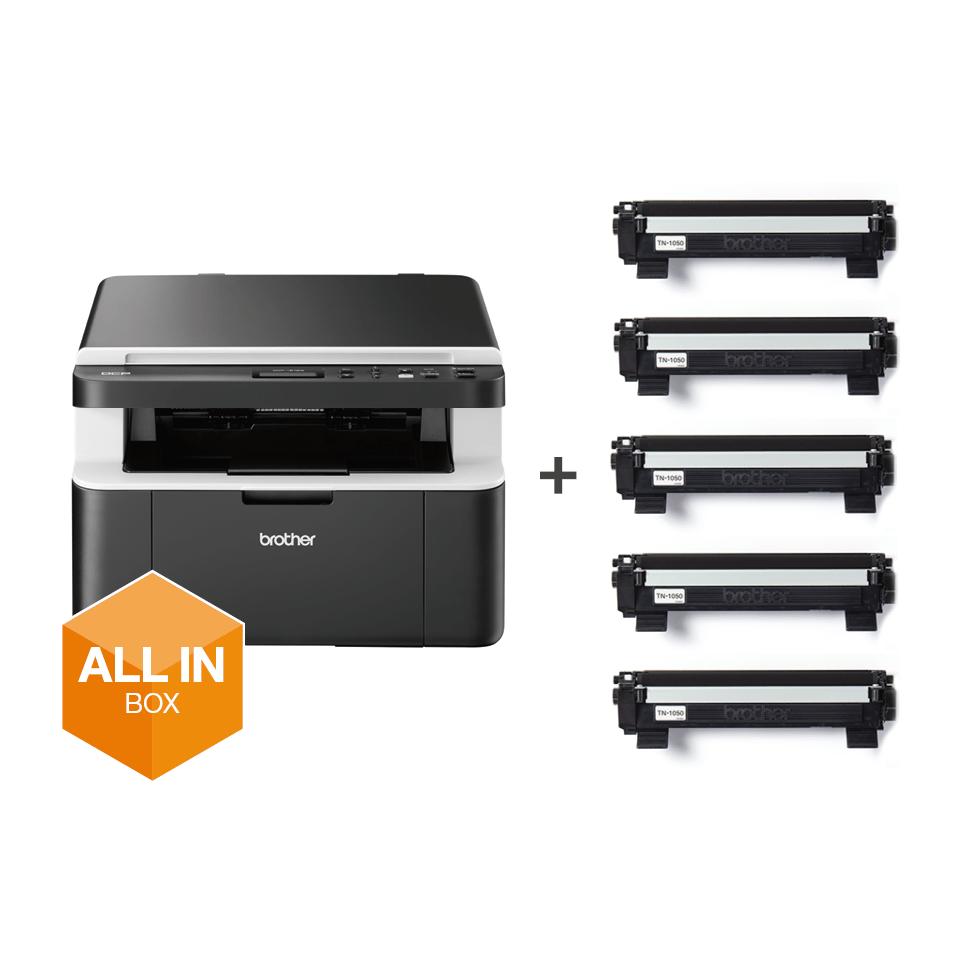 Draadloze all-in-one zwart-witlaserprinter DCP-1612W All-in-Box bundel