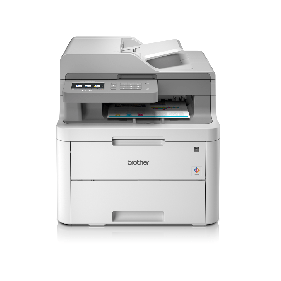 DCP-L3550CDW All-in-one draadloze kleurenledprinter