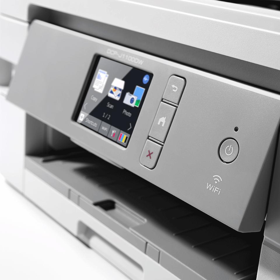 Draadloze inkjetprinter DCP-J1100DW All-In-Box bundel 6