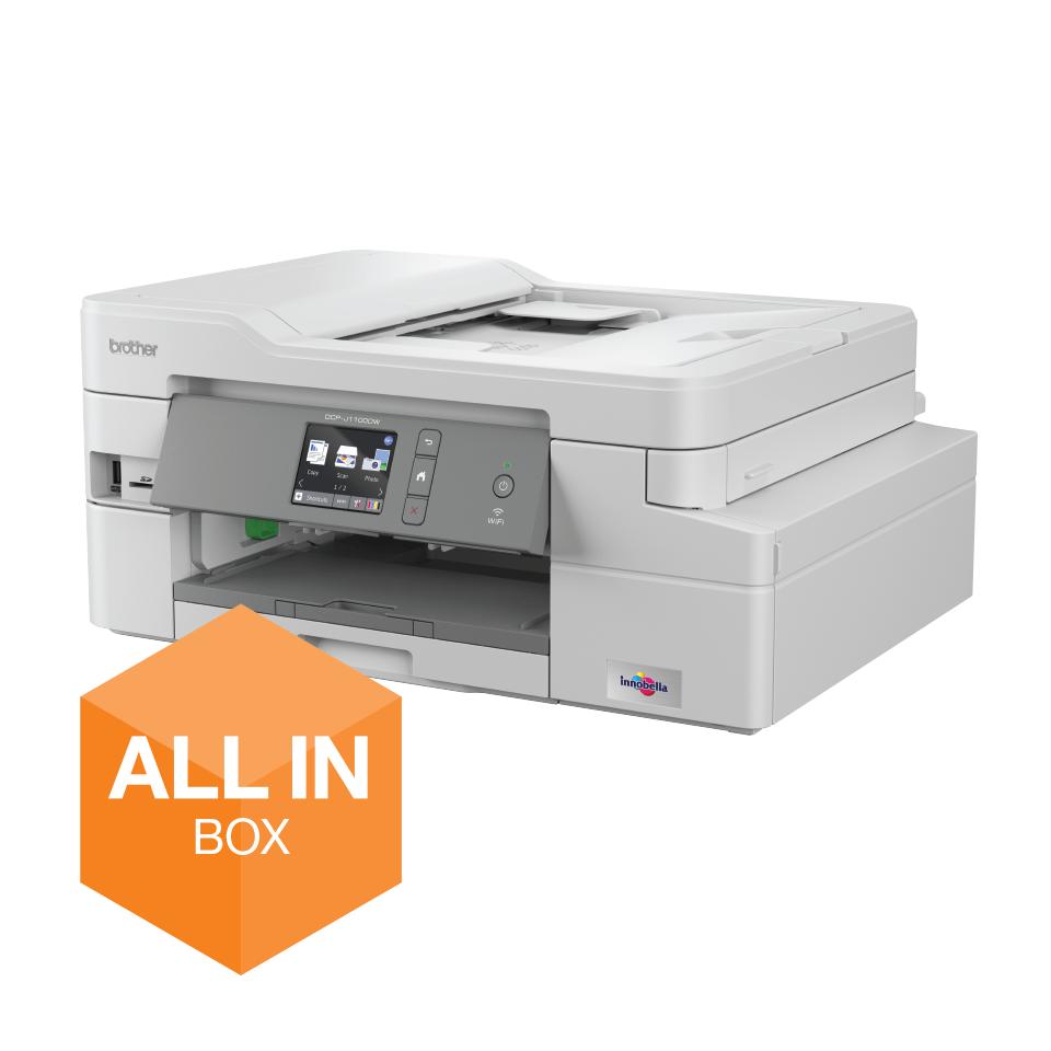 Draadloze inkjetprinter DCP-J1100DW All-In-Box bundel
