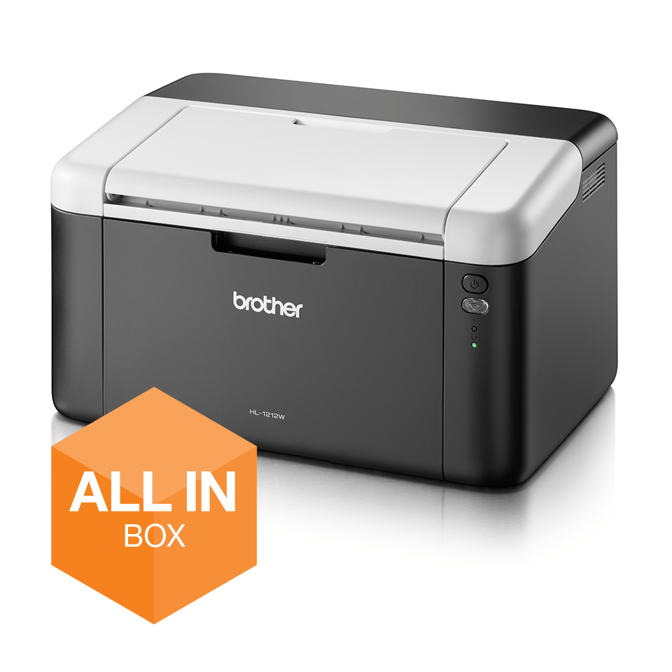 Draadloze zwart-witlaserprinter HL-1212W All-in-Box bundel
