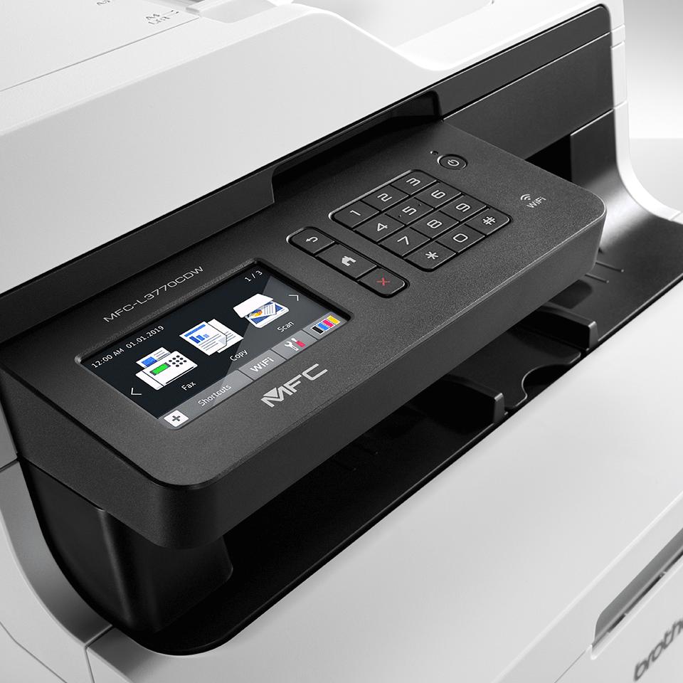 MFC-L3770CDW All-in-one draadloze kleurenledprinter 4