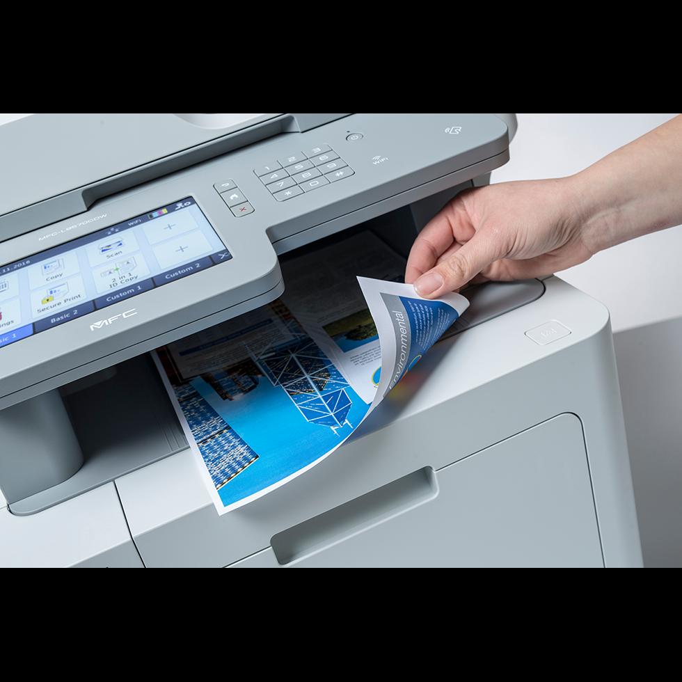 MFC-L9570CDWMT Professionele all-in-one kleurenlaserprinter met vijf papierladen en NFC 5