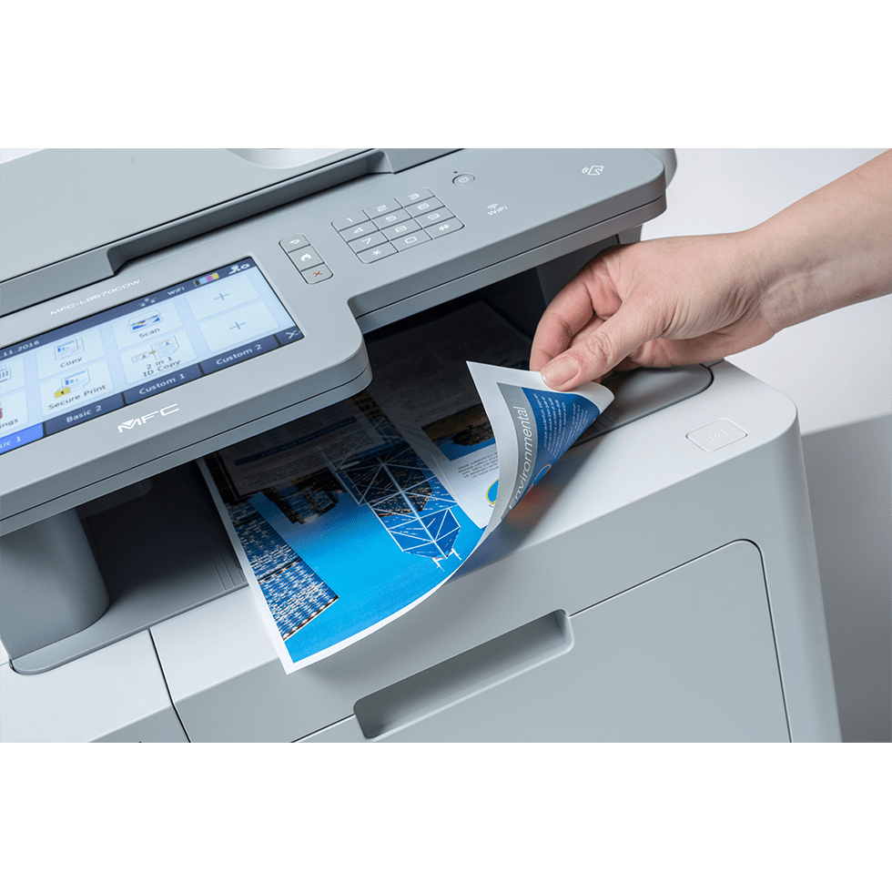 MFC-L9570CDWMT Professionele all-in-one kleurenlaserprinter met vijf papierladen en NFC 5
