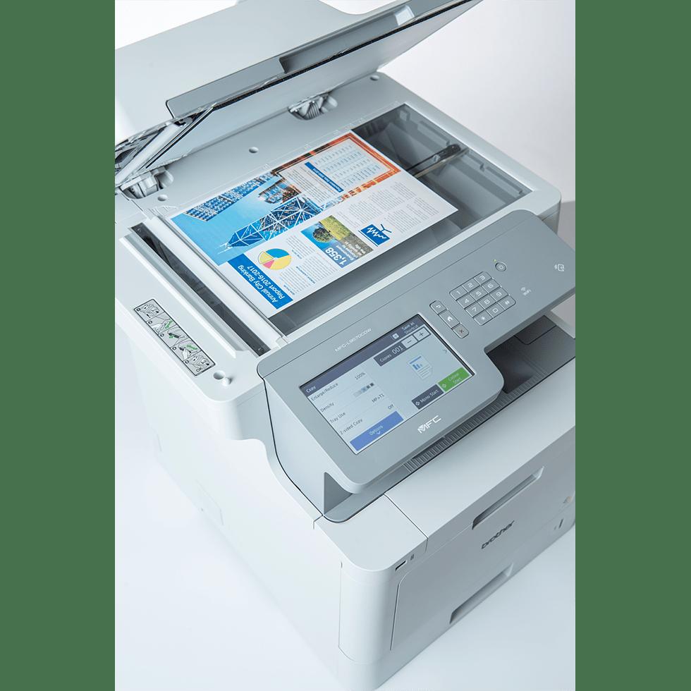MFC-L9570CDWMT Professionele all-in-one kleurenlaserprinter met vijf papierladen en NFC 6