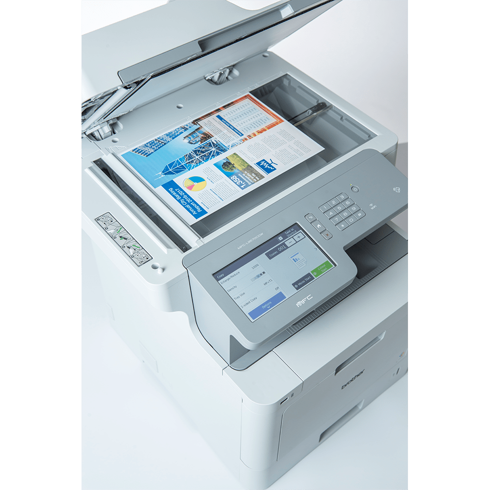 MFC-L9570CDWMT Professionele all-in-one kleurenlaserprinter met vijf papierladen en NFC 6