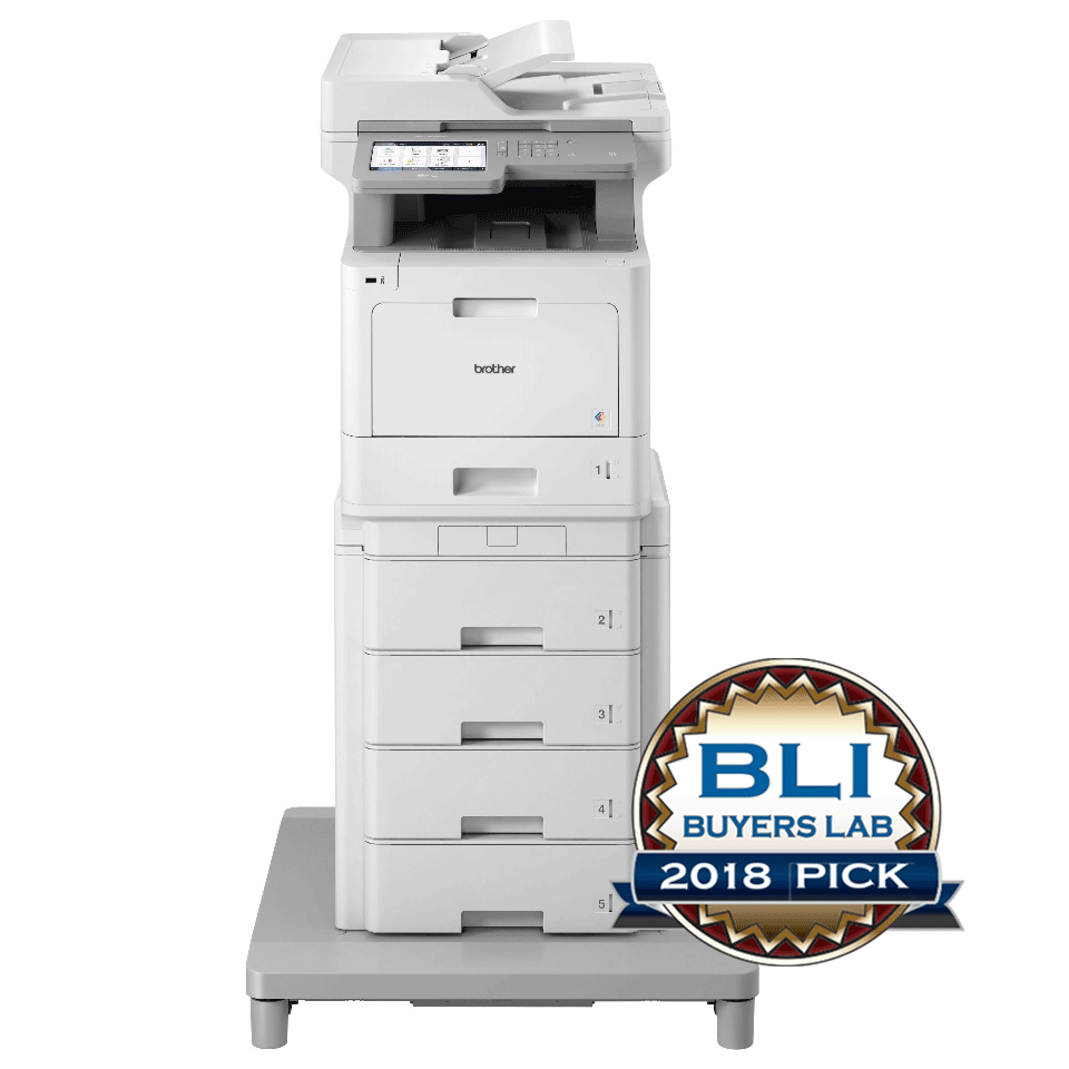 MFC-L9570CDWMT Professionele all-in-one kleurenlaserprinter met vijf papierladen en NFC