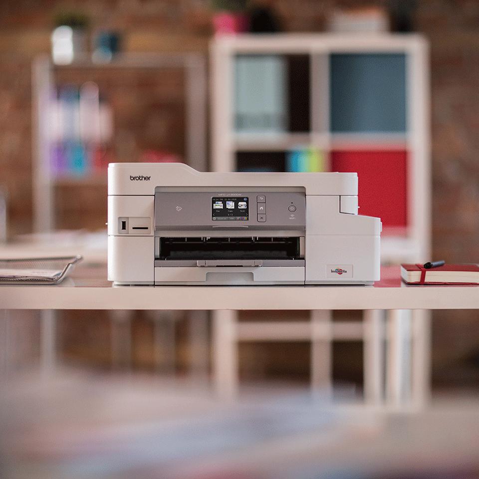 Draadloze inkjetprinter MFC-J1300DW All-in-Box bundel 4