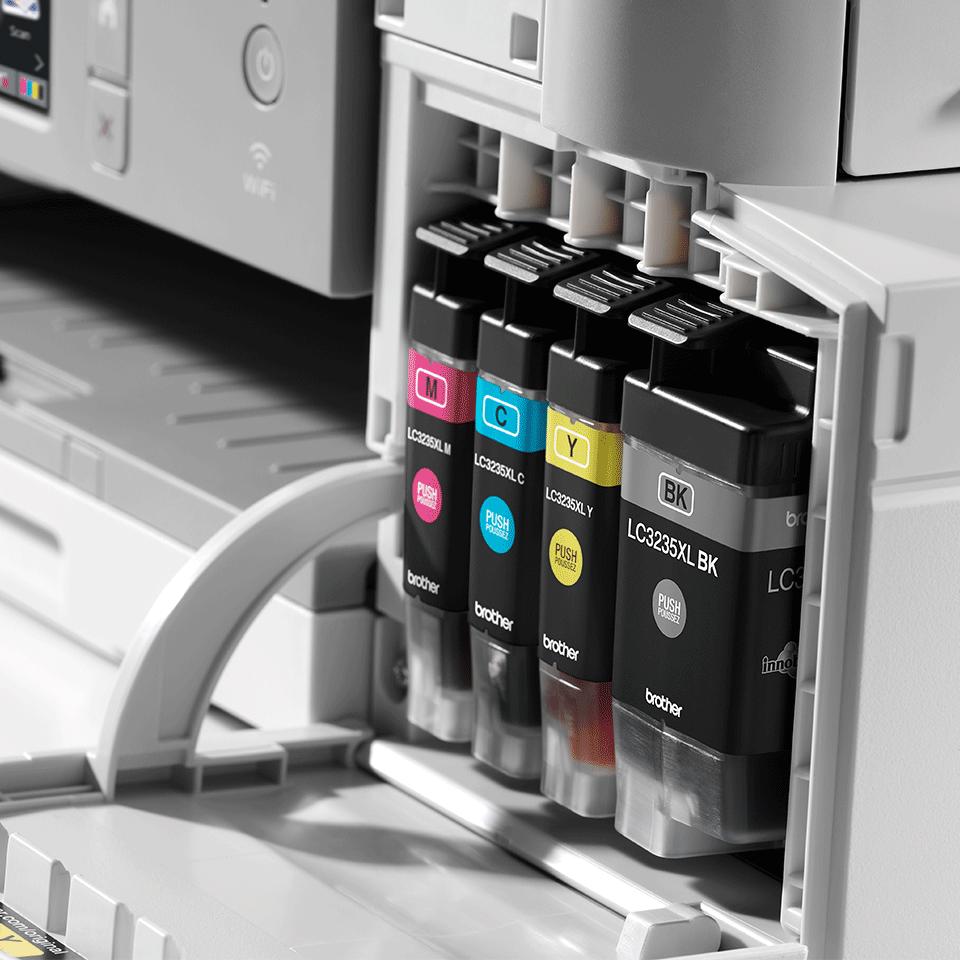 MFC-J1300DW All-in-Box bundel Draadloze inkjetprinter 8