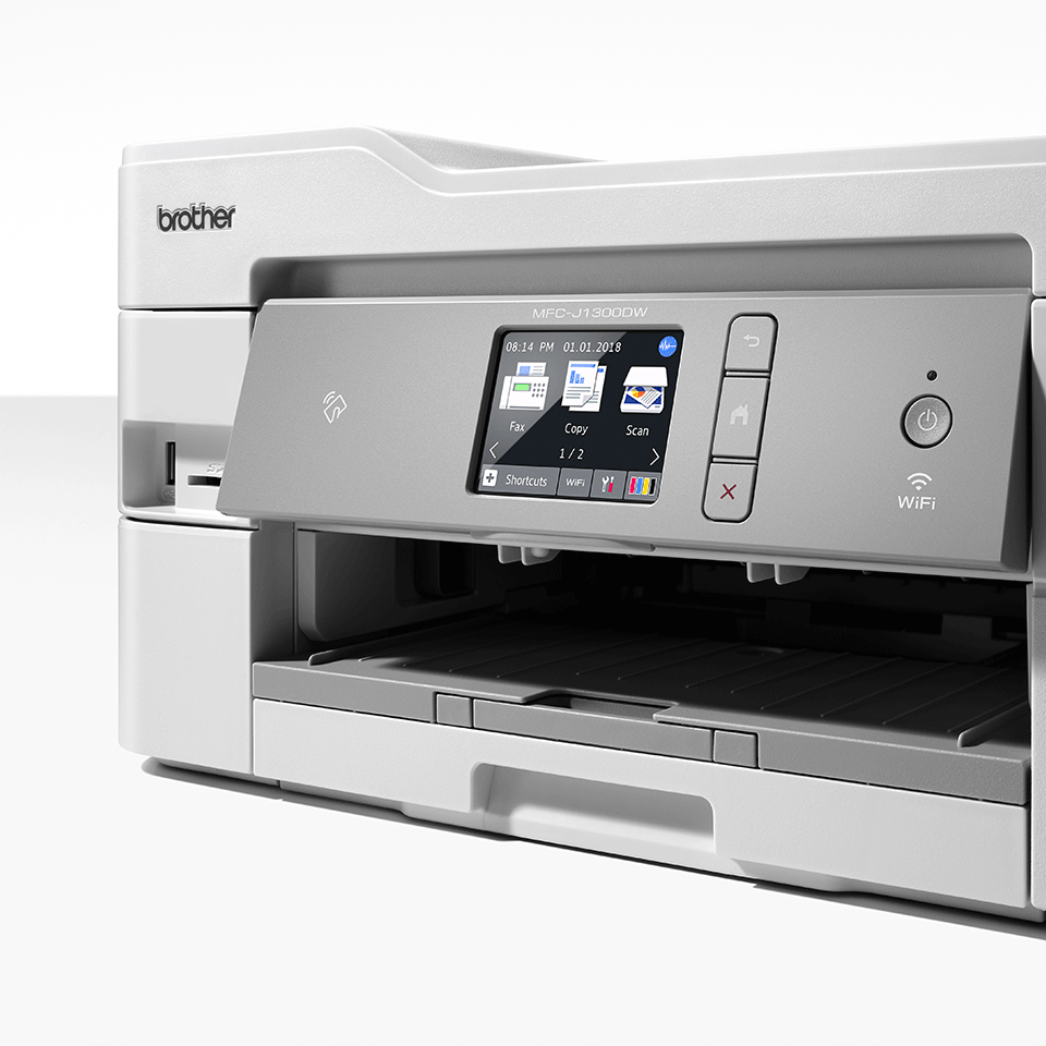 Draadloze inkjetprinter MFC-J1300DW All-in-Box bundel 7