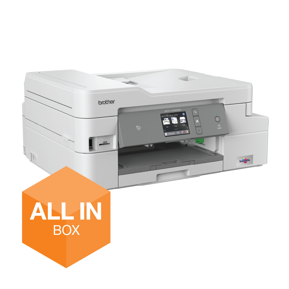MFC-J1300DW All-in-Box bundel Draadloze inkjetprinter 4