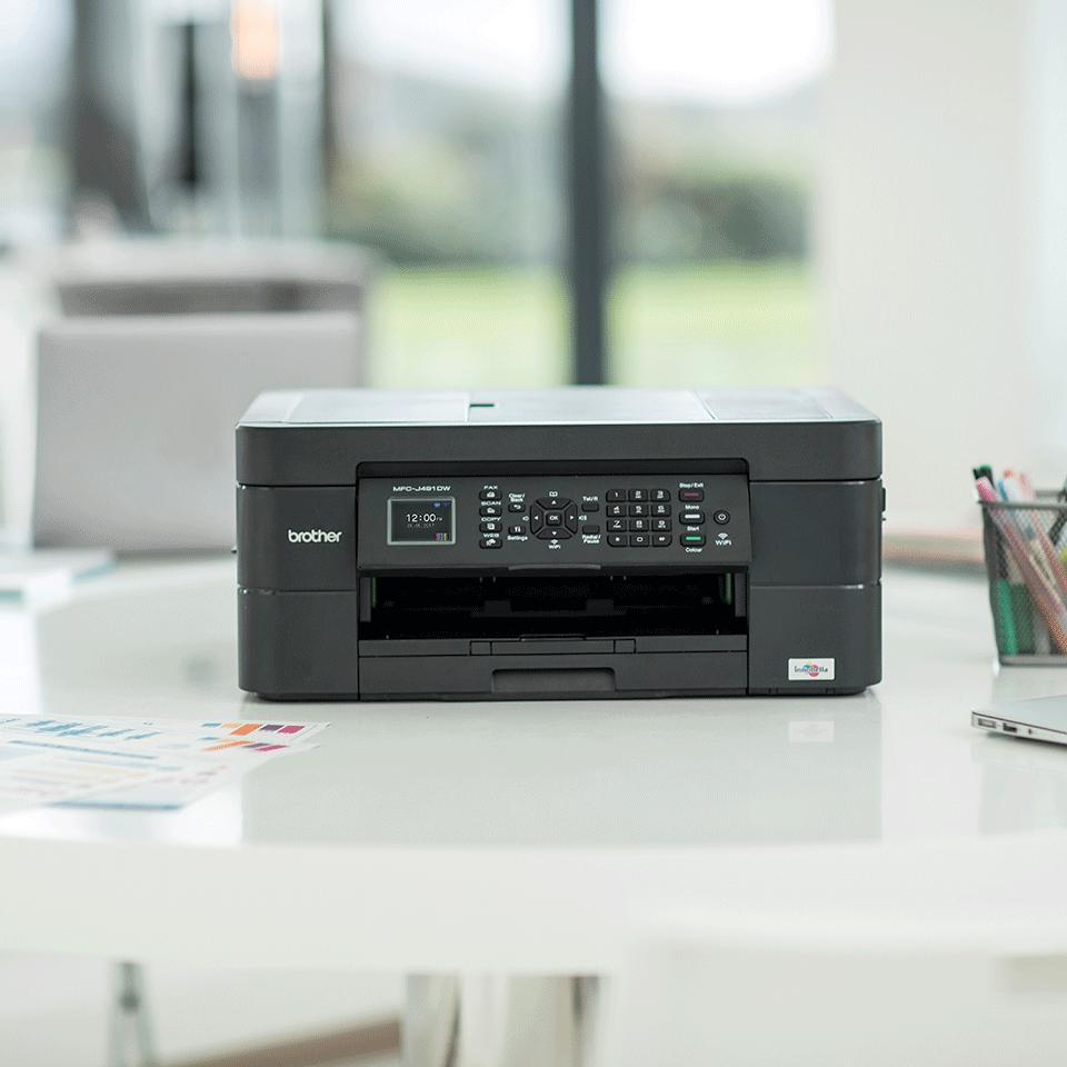 Draadloze kleureninkjetprinter MFC-J491DW 3