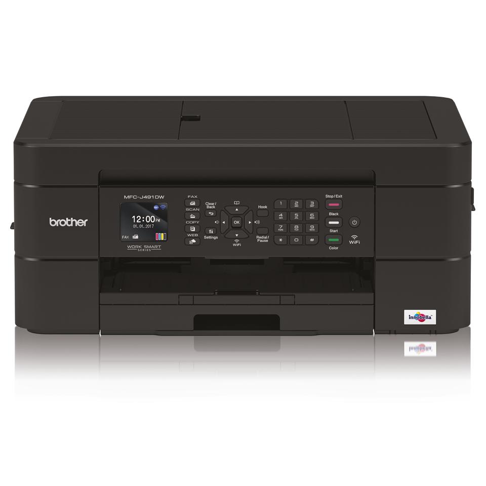 Draadloze kleureninkjetprinter MFC-J491DW