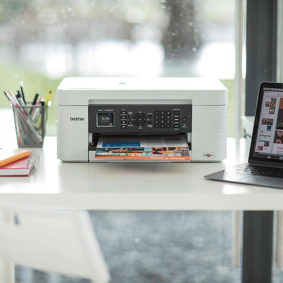 Draadloze kleureninkjetprinter MFC-J497DW 4