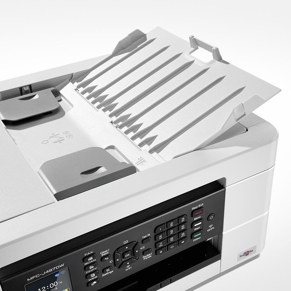 Draadloze kleureninkjetprinter MFC-J497DW 5