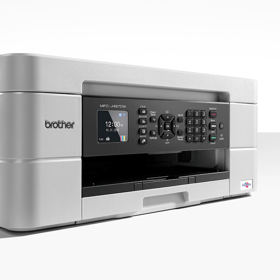Draadloze kleureninkjetprinter MFC-J497DW 6