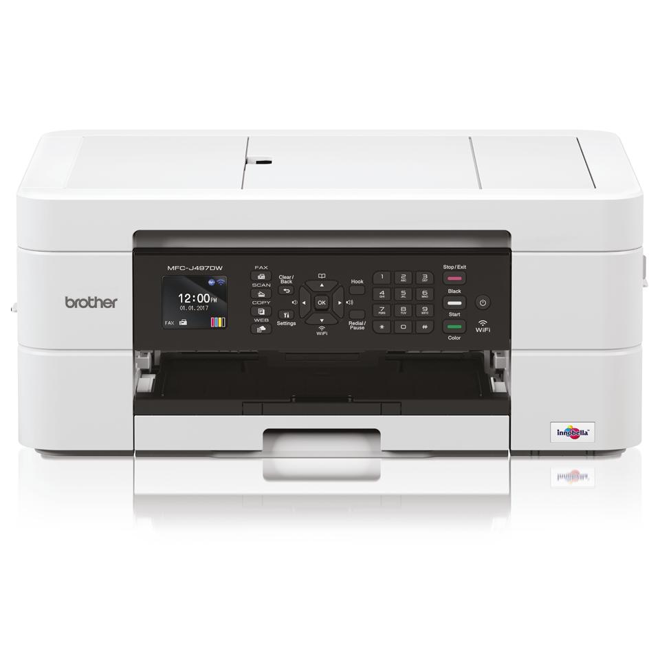 Draadloze kleureninkjetprinter MFC-J497DW