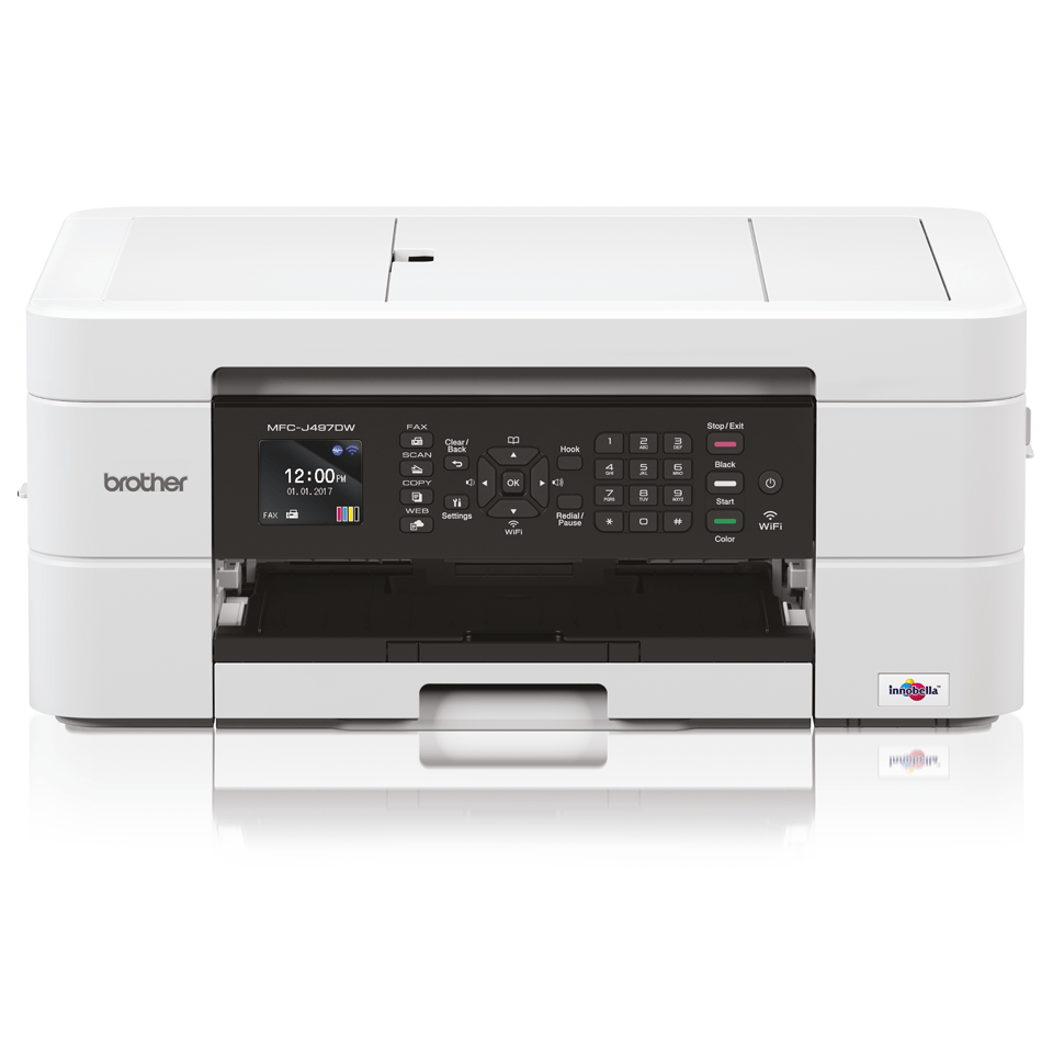 Draadloze kleureninkjetprinter MFC-J497DW 7