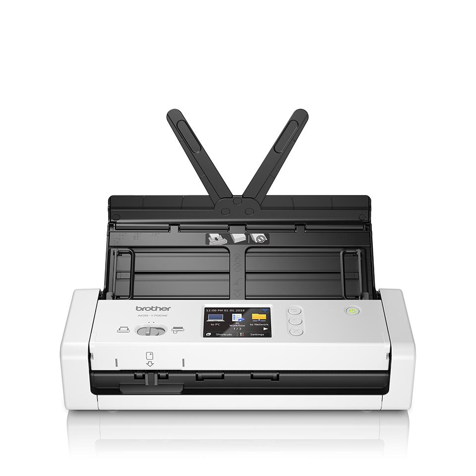 ADS-1700W Compacte, draadloze documentenscanner 5
