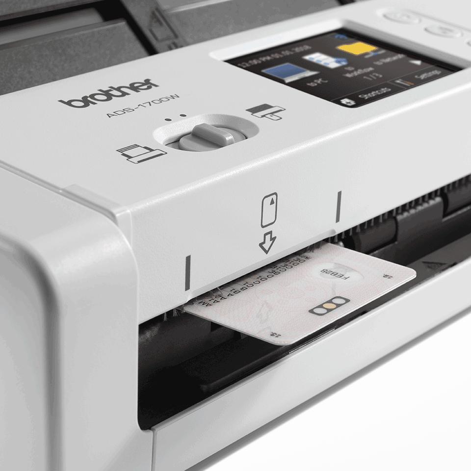 ADS-1700W Compacte, draadloze documentenscanner 7