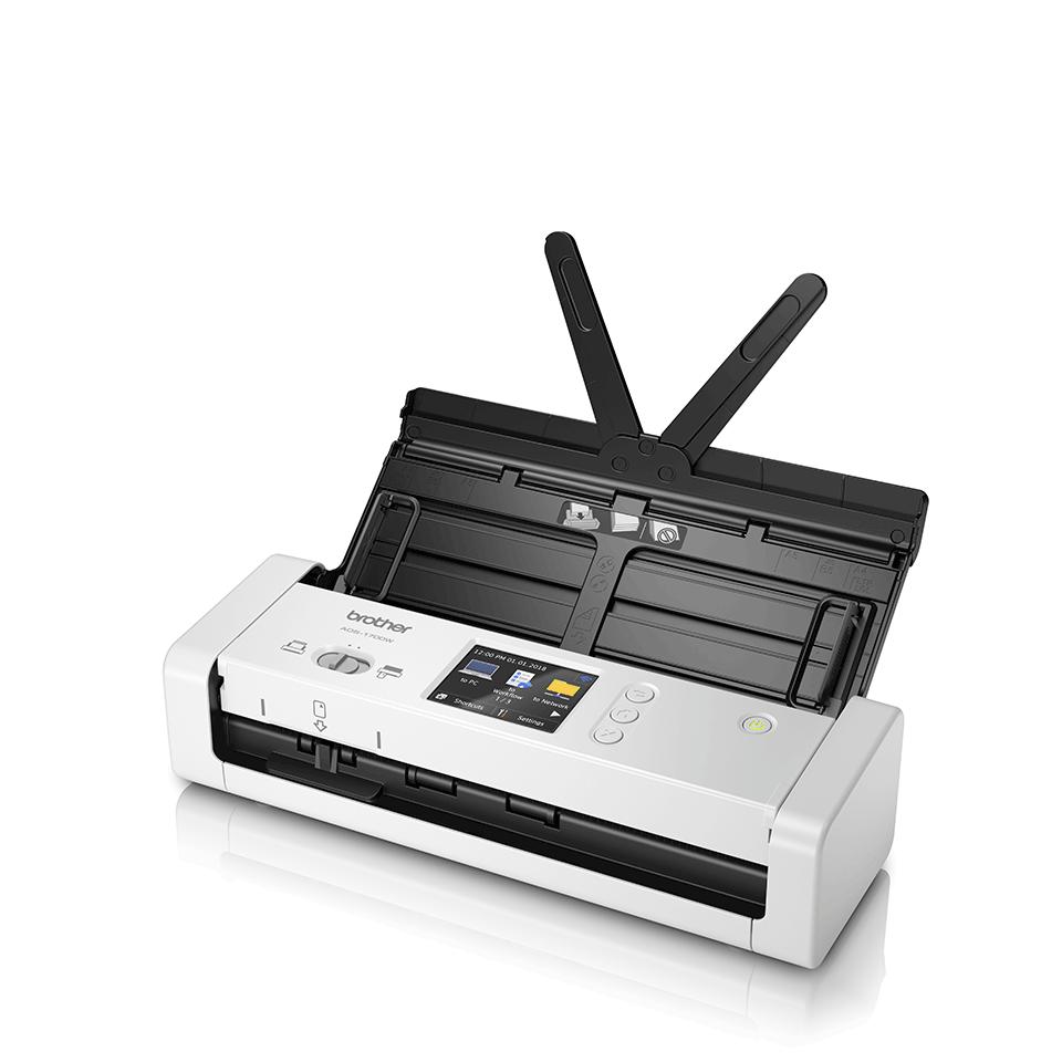ADS-1700W Compacte, draadloze documentenscanner 2