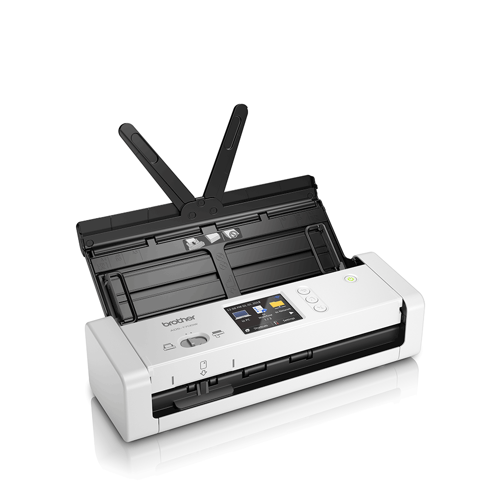 ADS-1700W Compacte, draadloze documentenscanner 3