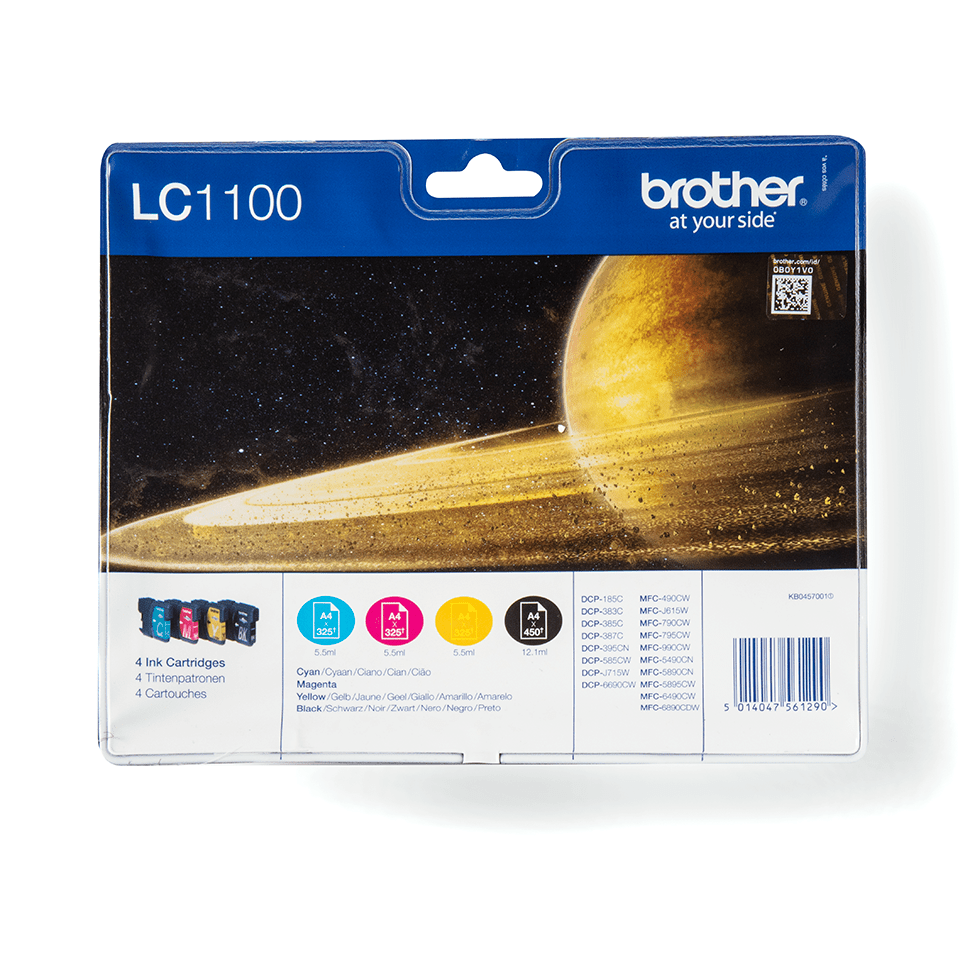 Originele Brother LC-1100VALBP inktcartridge